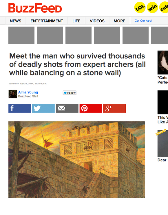 How Buzzfeed Would Report Book of Mormon Stories Today