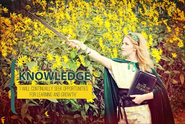 LDS Photographer Brings Young Women's Values to Life With Fairy-Tale Photos &