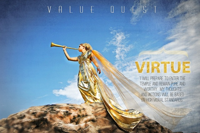 """LDS Photographer Brings Young Women's Values to Life With Fairy-Tale Photos & """"Value Quest"""""""