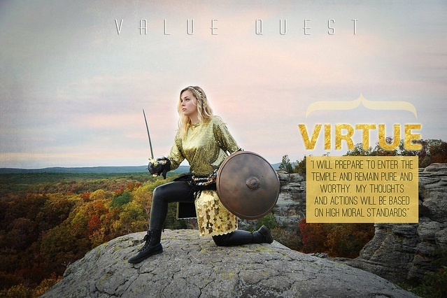 "LDS Photographer Brings Young Women's Values to Life With Fairy-Tale Photos & ""Value Quest"""