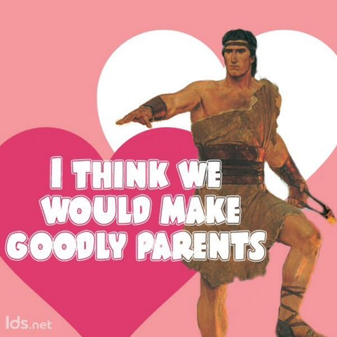 Nephi Goodly Parents Valentine
