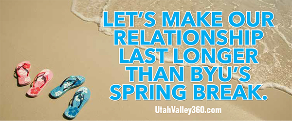 BYU Spring Break Valentine