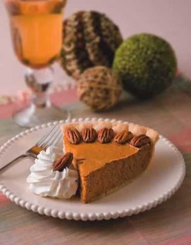 Thanksgiving Recipes: Pumpkin Cream Cheese Pie