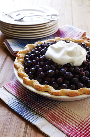 Thanksgiving Recipes: Fresh Blueberry Pie