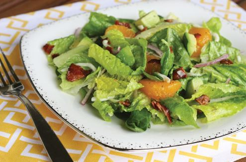 Thanksgiving Recipes: Spinach Mandarin Poppy Seed Salad