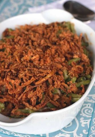 Thanksgiving Recipes: Homemade Green Bean Casserole