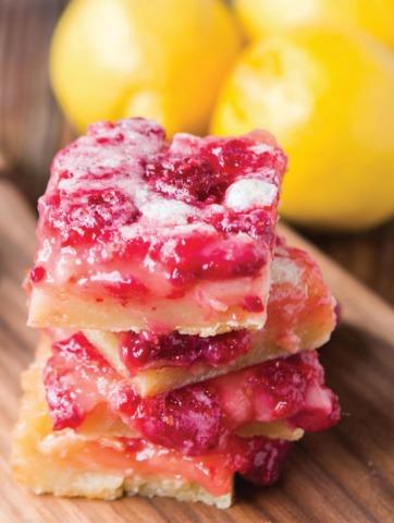 Raspberry Lemon Tart Bars