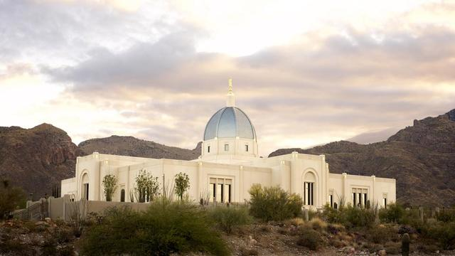 The Tucson Arizona Temple.