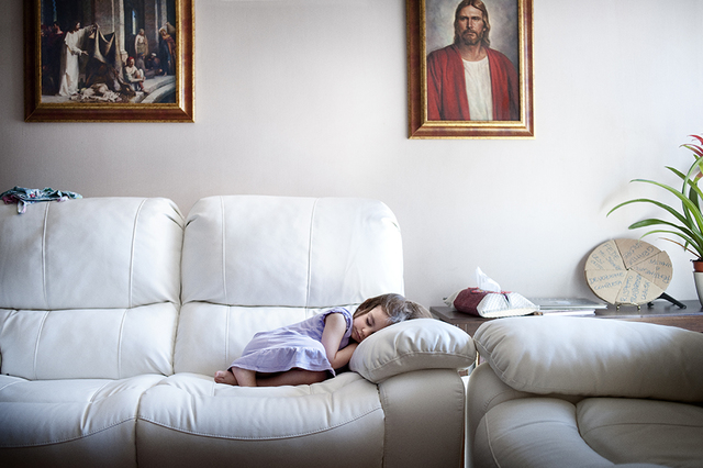 Mormon Girl Sleeping Feature on National Geographic