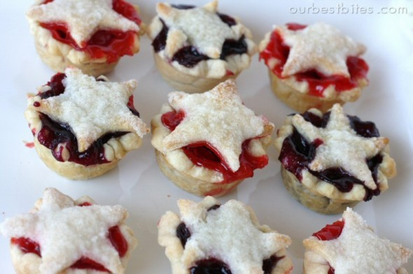 Star-Studded Mini Pies