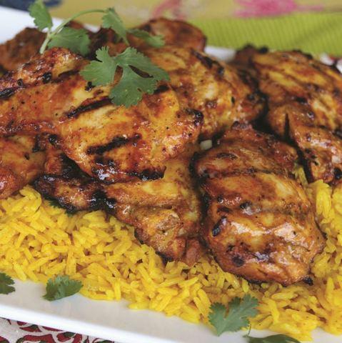 Tandoori Chicken BBQ Recipe