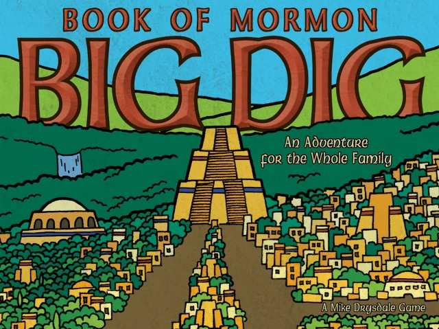 Book of Mormon: Big Dig Game