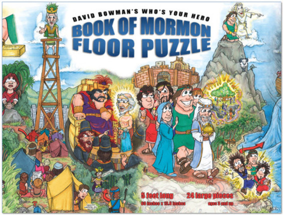 Who's Your Hero?: Book of Mormon Floor Puzzle