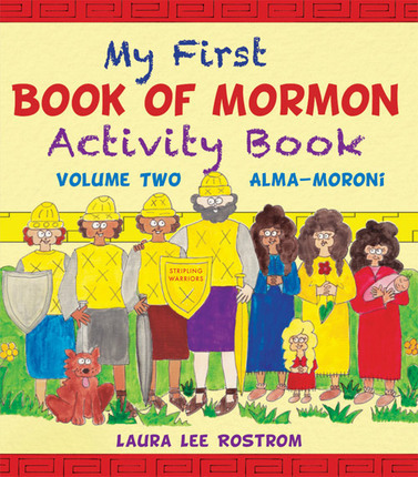My First Book of Mormon Activity Book, Vol 2: Alma - Moroni