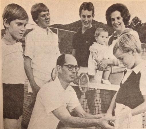 President Eyring Tennis