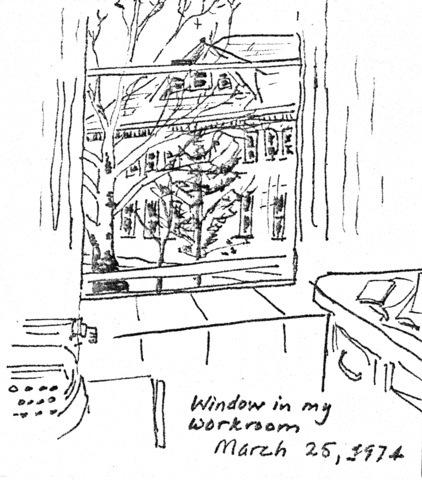 President Eyring Sketch