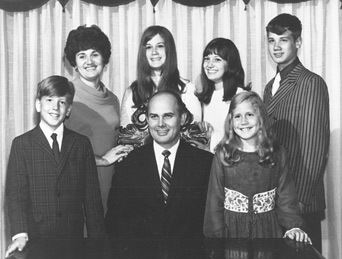 Elder Oaks and His Family