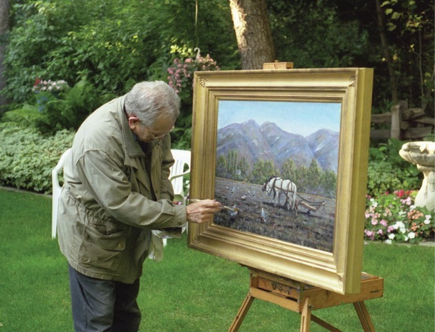 President Packer Painting
