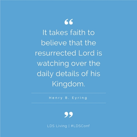 One Inspiring Quote from Every General Conference Talk