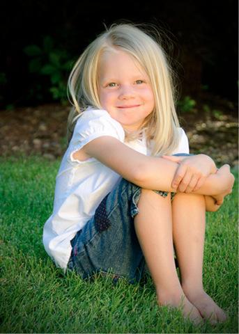 Emilie Parker smiling
