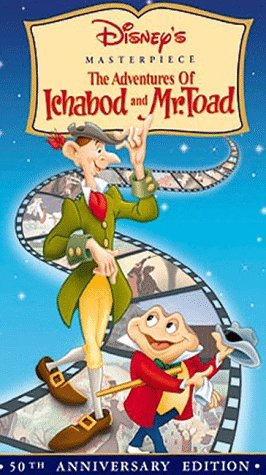 Disney's The Adventures of Ichabod and Mr. Toad Movie Poster