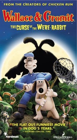 Dreamwork's Wallace & Gromit: The Curse of the Were-Rabbit Movie Poster