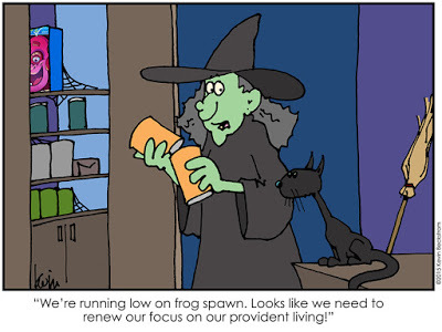 Halloween Comic by LDS Artist Keven Beckstrom
