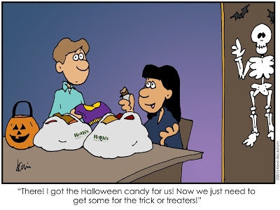 LDS Halloween Comic by Keven Beckstrom