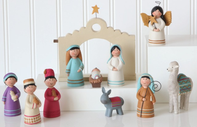 12 Unique Nativities from Around the World