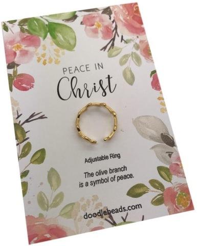 Peace In Christ: 2018 Mutual Theme