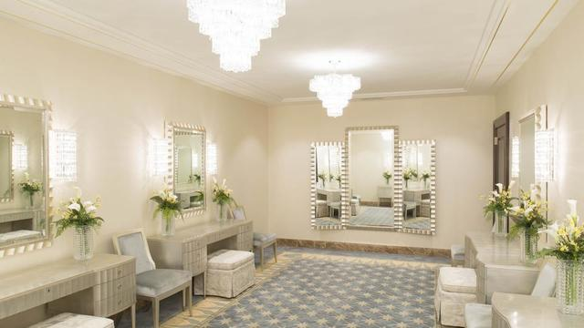 The bride's room in the Jordan River Utah Temple.