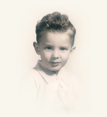Elder Neil L. Andersen cuando era niño