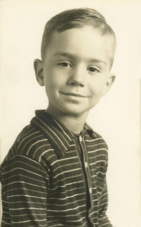 President Henry B. Eyring as a young boy
