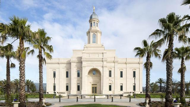 The Concepción Chile Temple of The Church of Jesus Christ of Latter-day Saints.