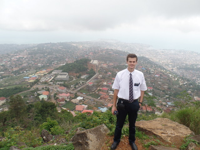 August as a missionary