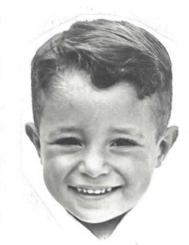 El élder Ulisses Soares cuando era niño