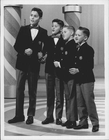 The Osmond Brothers performing on The Andy Williams Show