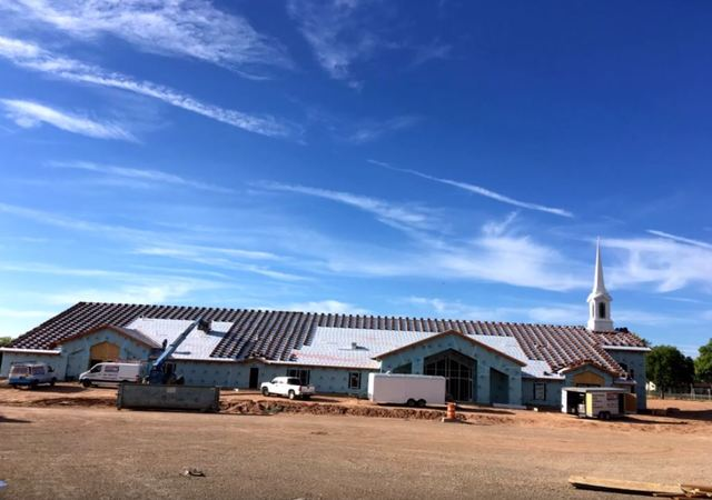 Construction progresses on the new St. George East stake center