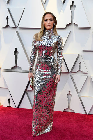 Jennifer Lopez at the Academy Awards
