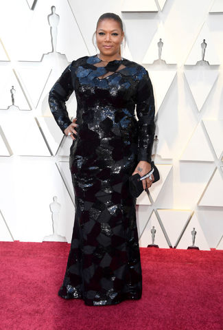 Queen Latifah at the 2019 Academy Awards