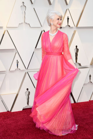 Helen Mirren at the 2019 Academy Awards
