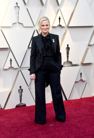 Amy Poehler at the 2019 Academy Awards