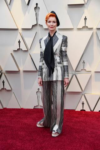 Sandy Powell at the 2019 Academy Awards