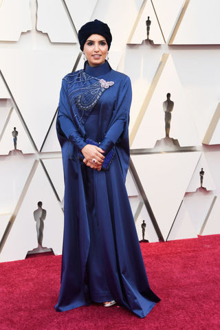 Fatma Al Remaihi at the Academy Awards