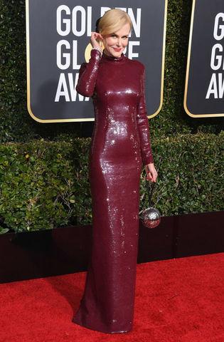 Nicole Kidman at the 2019 Golden Globes