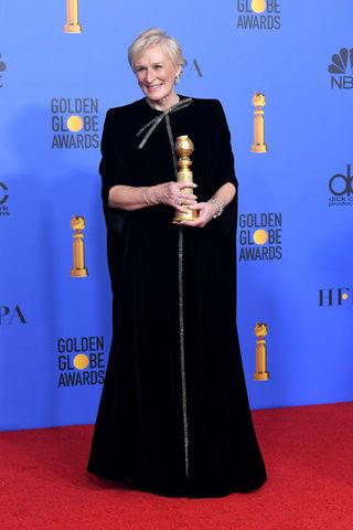 Glenn Close at the 2019 Golden Globes