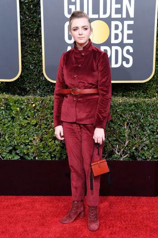 Elsie Fisher at the Golden Globes