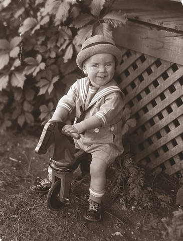 President Russell M. Nelson as a child