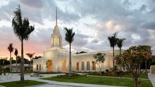 The Port-au-Prince Haiti Temple.