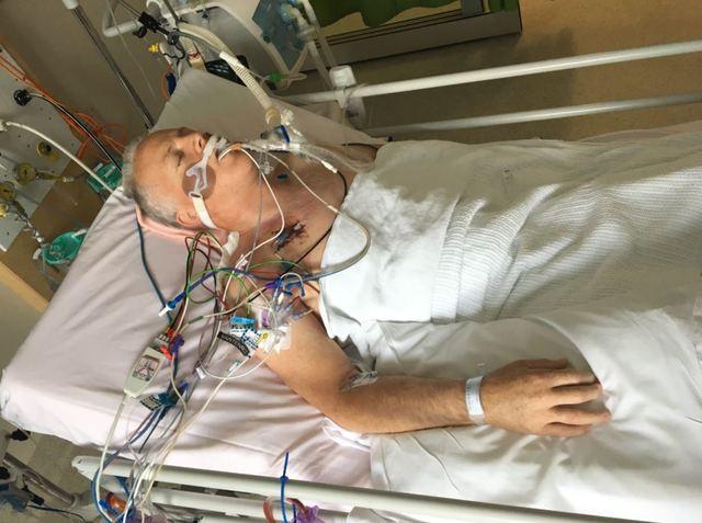 President Bingham in the hospital